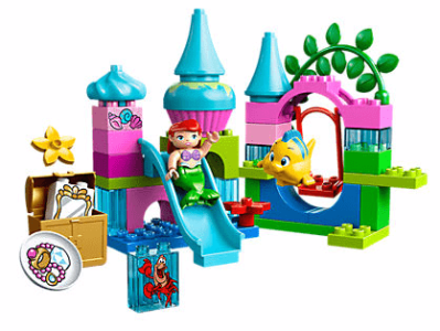 Disney The Little Mermaid Ariel's Undersea Castle LEGO Set
