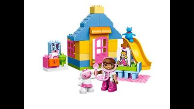 Disney Doc McStuffin Backyard Clinic LEGO Set