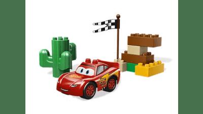 Disney Cars Lightning McQueen LEGO Set