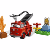 Disney Cars Red LEGO Set