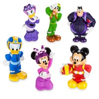 Mickey and the Roadster Racers Squeeze Toy Set