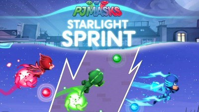 PJ Masks Starlight Sprint Mobile Game