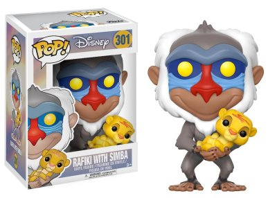 Rafiki with Simba Funko Pop! Vinyl Figure (The Lion King)