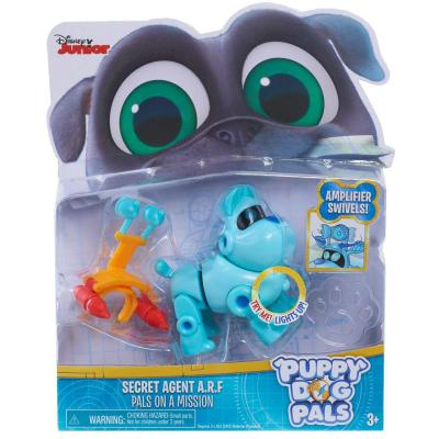 Puppy Dog Light-Up Pals On a Mission Secret Agent ARF Figure