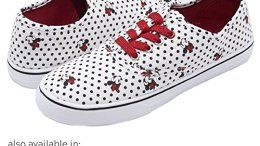 Disney Junior Teen Girls Low Top Minnie Mouse Sneakers