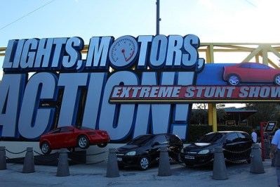 Lights Motors Action! Extreme Stunt Show | Extinct Disney World Attractions