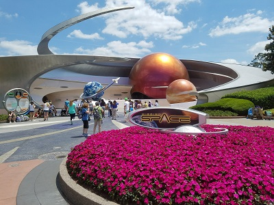 Mission SPACE (Disney World Ride)