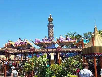 The Magic Carpets of Aladdin (Disney World Ride)