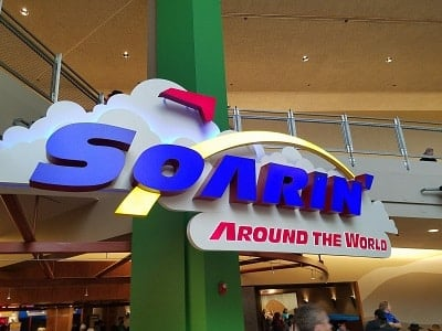 Soarin' Around the World (Disney World Ride)