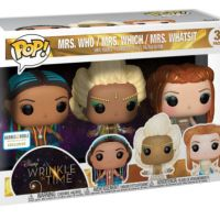 A Wrinkle In Time Funko Pop 3pk