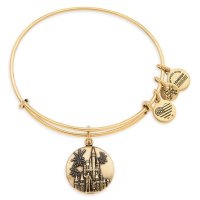 Cinderella Castle with Walt Disney and Mickey Mouse Alex and Ani Bangle
