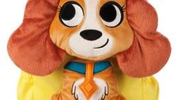 Lady Plush Backpack for Girls - Disney Furrytale Friends