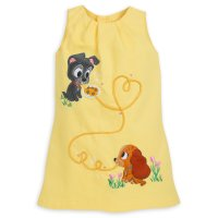 Lady and the Tramp Dress for Girls - Disney Furrytale Friends