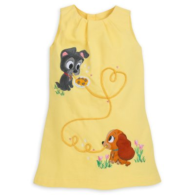 Lady and the Tramp Dress for Girls – Disney Furrytale Friends