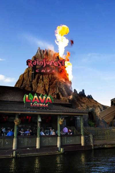 Rainforest Cafe – Lava Lounge (Disney Springs)
