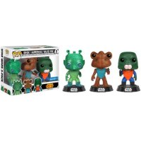 Star Wars Cantina Set with Greedo, Hammerhead and Walrus Man Funko Pop!