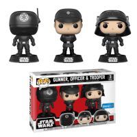 Star Wars Death Star 3-Pack Funko Pop