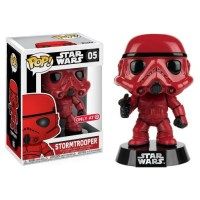 Star Wars Red Stormtrooper Mini Figure Funko POP