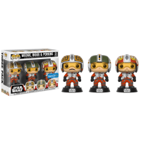 Star Wars X-Wing Pilots 3-Pack Funko Pop!