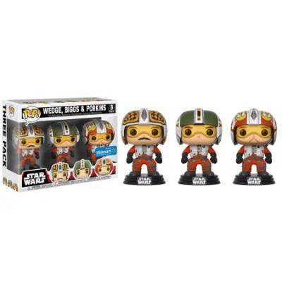 Star Wars X-Wing Pilots 3-Pack Funko Pop!