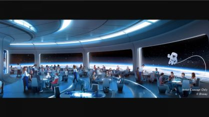 space restaurant epcot