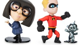 Dash, Edna, and Jack-Jack Action Figures