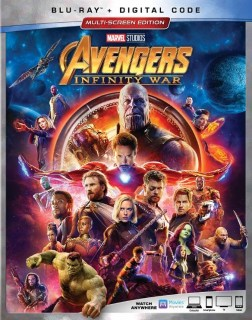 Avengers Infinity War DVD and Blu-Ray