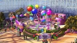 Inside Out Emotional Whirlwind (Disney California Adventure) pixar pier