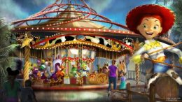 Jessie's Critter Carousel (Disney California Adventure) pixar pier