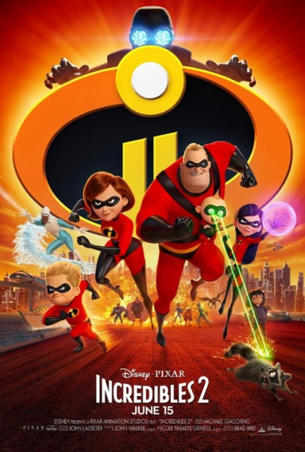 Release Date Announced for Incredibles 2 DVD and Blu-Ray