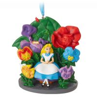 Alice in Wonderland Sketchbook Christmas Ornament