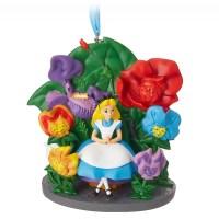 Alice in Wonderland Sketchbook Christmas Ornament