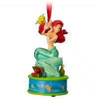 Ariel Singing Sketchbook Christmas Ornament