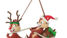 Chip & Dale Dashing Through the Snow 2018 Christmas Ornament