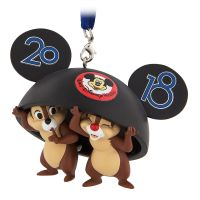 Chip 'n Dale Ear Hat 2018 Christmas Ornament