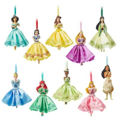 Disney Princess Sketchbook Christmas Ornament Set
