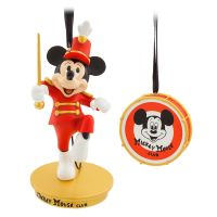 Mickey Mouse The Mickey Mouse Club Christmas Ornament Set