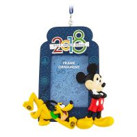 Mickey Mouse and Pluto Frame Christmas Ornament 2018
