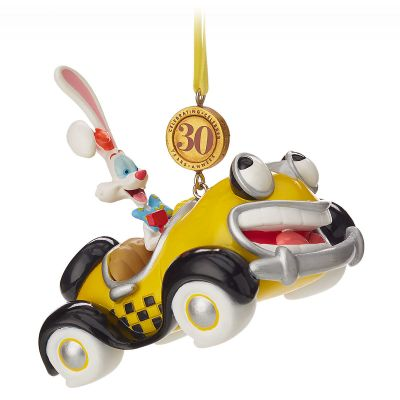 Roger Rabbit and Benny the Cab Christmas Ornament