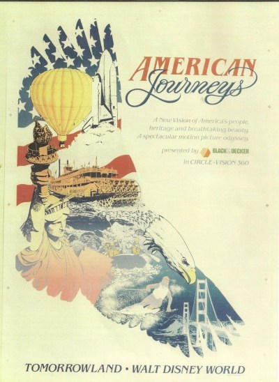 American Journeys– Extinct Disney World