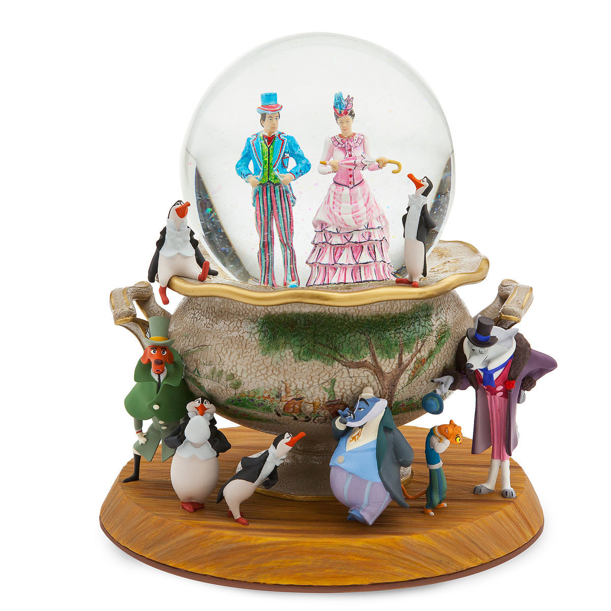 Disney Store Mary Poppins Umbrella Sketchbook Christmas Ornament New in Box 2018
