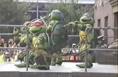 Teenage Mutant Ninja Turtles– Extinct Disney World