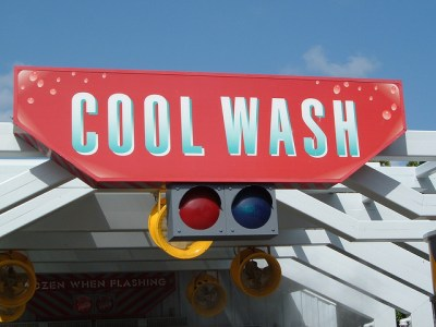 Test Track Cool Wash (Disney World Ride)