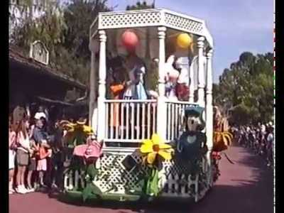 Disney Character Hit Parade– Extinct Disney World Attractions