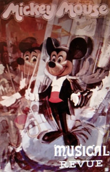 Mickey Mouse Musical Revue   Extinct Disney World Attractions