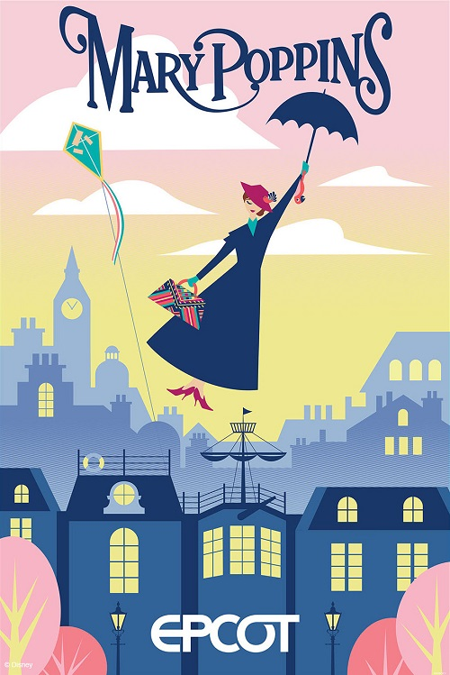 Mary Poppins Attraction at Epcot