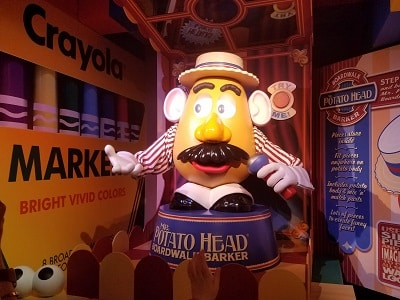 Toy Story Midway Mania (Disney World Ride)