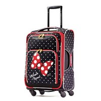 American Tourister 21 Inch, Minnie Mouse Red Bow Luggage