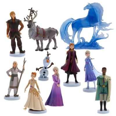 Frozen 2 Action Figure Play Set – 10-Pieces