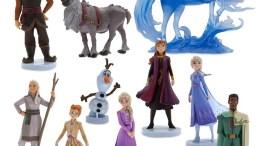 Frozen 2 Action Figure Play Set - 10-Pieces